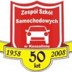Logo jubileuszu 50-lecia Szkoły.